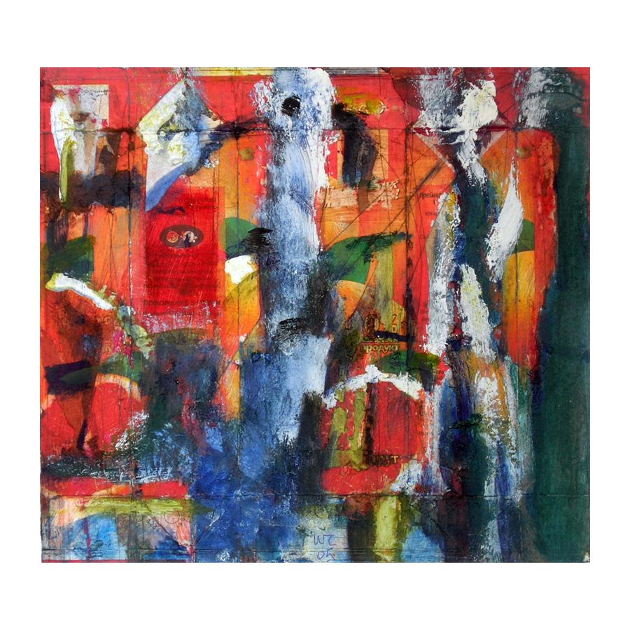 Живопись, абстракция без названия